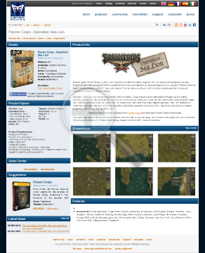 Panzer Corps Operation Sealion PC Physical With Free Download preview. Click for more details