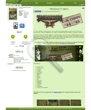 Panzer Corps: U.S. Corps 4445 PC Download preview. Click for more details