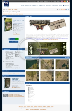 Panzer Corps: U.S. Corps 4445 Physical with Free download preview. Click for more details