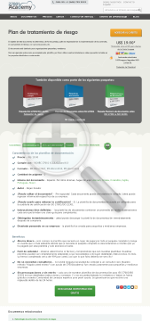 Plan de tratamiento del riesgo ES (standard version) preview. Click for more details
