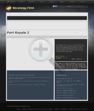 Port Royale 2 Full Version preview. Click for more details