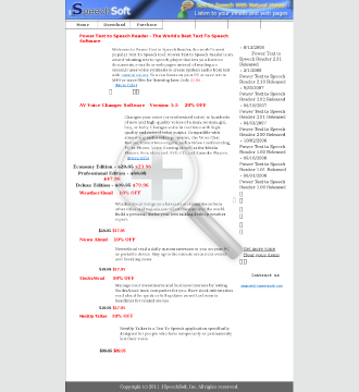 Power Text To Speech Reader Full Version preview. Click for more details