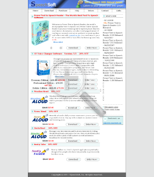 Power Text To Speech Reader Power Text to Speech Reader Mutiple License preview. Click for more details
