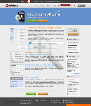 Powered Keylogger [Single License] preview. Click for more details