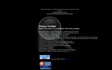 Proxy Raider Full Version preview. Click for more details
