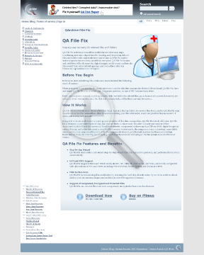 QA File Fix Full Version preview. Click for more details