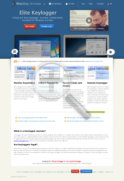 Quick Keylogger Corporate License preview. Click for more details