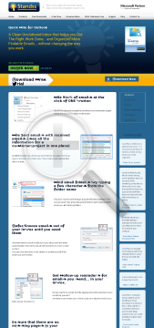 QuickFile for Outlook  Standard (Version 5) Full Version preview. Click for more details