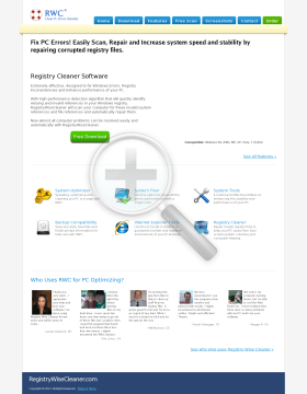 Registry Wise Cleaner  5 Licenses preview. Click for more details