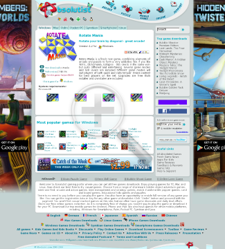 Rotate Mania Full Version(Linux) preview. Click for more details
