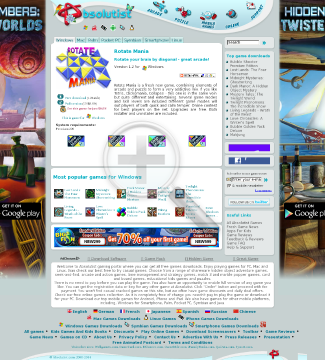 Rotate Mania Full Version(Symbian) preview. Click for more details