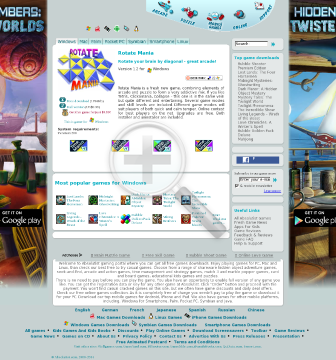 Rotate Mania  Full Version(Windows) preview. Click for more details