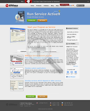 Run Service ActiveX [OEM License] preview. Click for more details