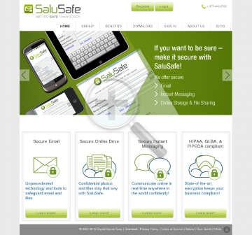 SaluSafe Personal Member License  Ultra Lite preview. Click for more details