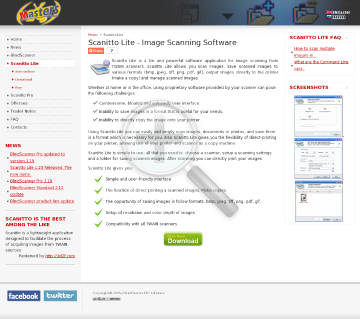 Scanitto Lite Site license preview. Click for more details