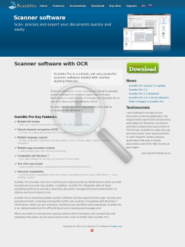 Scanitto Pro Singleuser license preview. Click for more details