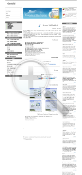 Screen VidShot Business license preview. Click for more details