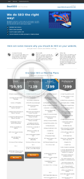 SEO Monthly Elite Elite SEO Package preview. Click for more details