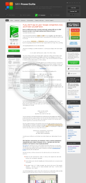 SEO SpyGlass Professional License preview. Click for more details