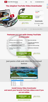 Ummy Video Downloader Windows Win Pro Subscription 6 months preview. Click for more details
