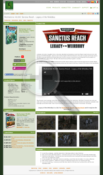 Warhammer 40,000: Sanctus Reach  Legacy of the Weirdboy Download preview. Click for more details