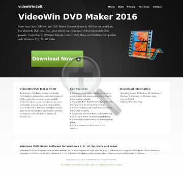 Win DVD Maker Old Customer Only preview. Click for more details