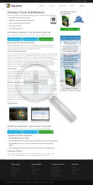 Zemana AntiMalware Full Version preview. Click for more details