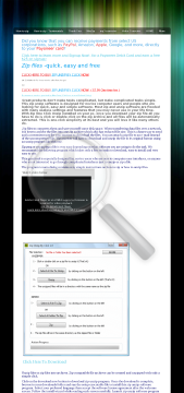 Zip One Click Unzip Full Version preview. Click for more details